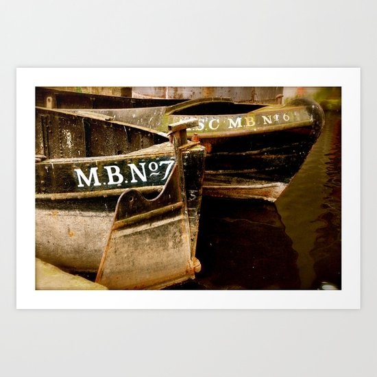 Two in Manchester Art Print