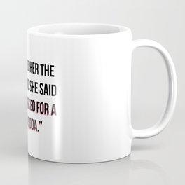 Vodka Soda Coffee Mug