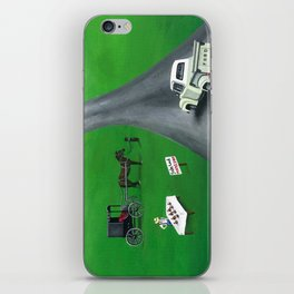 Hilly Heartfelt iPhone Skin