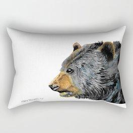 Black Bear Rectangular Pillow