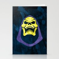 skeletor Stationery Cards featuring Skeletor by Some_Designs