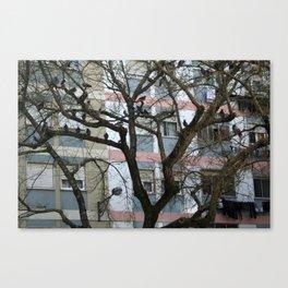 Urban Condos Canvas Print