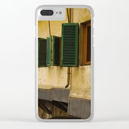 Ponte Vecchio Florence Italy Clear iPhone Case