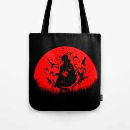 Red Moon Itachi Tote Bag