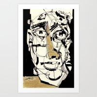 golden Art Prints featuring Golden by 5wingerone