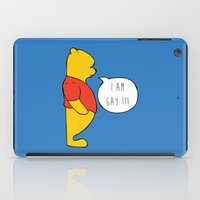 winnie the pooh iPad Cases featuring WINNIE THE POOH by DrakenStuff+