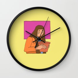 Empty Pot Wall Clock