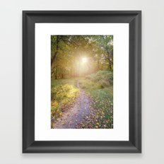 ...Keep Peace with your Soul Framed Art Print