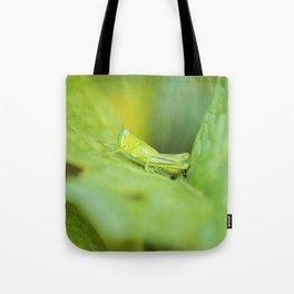 Hedge Grasshopper Tote Bag