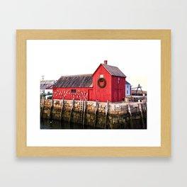 Motif1 Framed Art Print