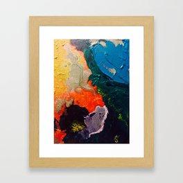 El Nino Abstract Framed Art Print