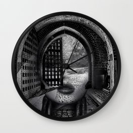 Arch girl Wall Clock