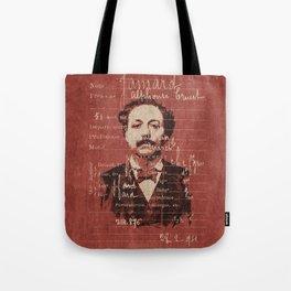 ROGUES GALLERY / 1894 Criminology - Bertillonage 004 Tote Bag