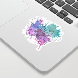 Uterus Splat Sticker