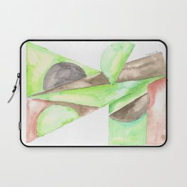 180515 Fitting In 4 | Abstract Watercolors Laptop Sleeve