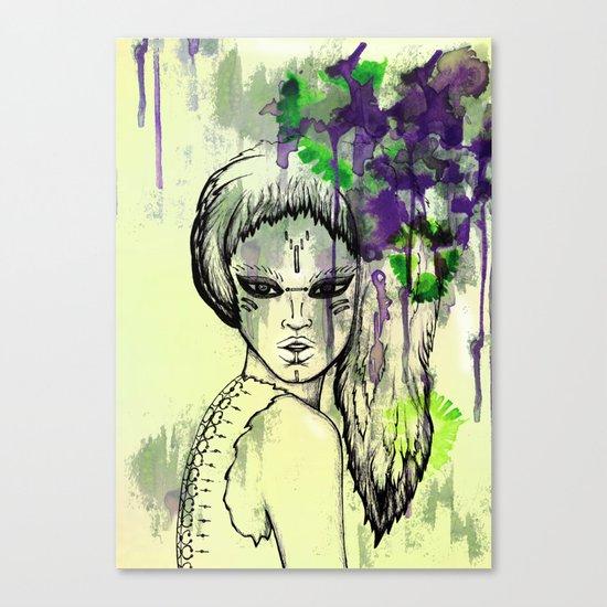 Tribal Beauty 1 Canvas Print