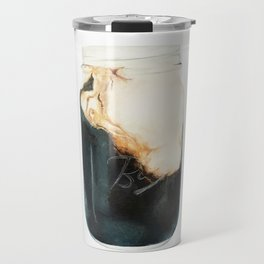 Iced Coffee in Mason Jar Travel Mug