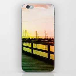 I <3 White Rock (BC) Canada - Colorful Pier iPhone Skin