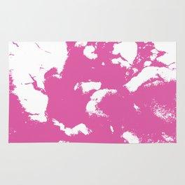 Marble pink 1 Suminagashi watercolor pattern art pisces water wave ocean minimal design Rug