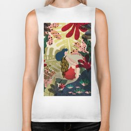 Relaxed in Jungle - The Book Lover Biker Tank