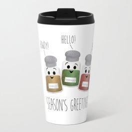 Season's Greetings   Garlic, Oregano & Paprika Travel Mug