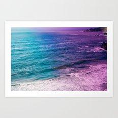 Bohemian Ocean Art Print