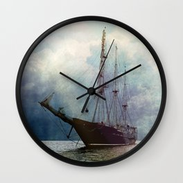 Fernweh for distant lands [expedition to Galapagos] Wall Clock