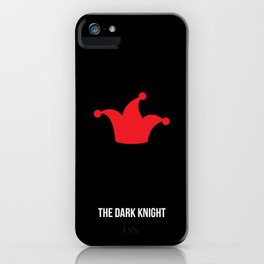 TheDarkKnight Minimalist Poster iPhone Case