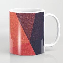 Abstract geometric patter.Triangle background Coffee Mug