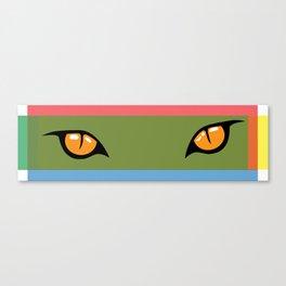 Fox Eyes Canvas Print