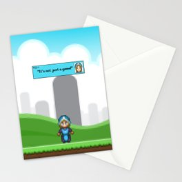 It's not just a Game! [Female Version 1] Stationery Cards