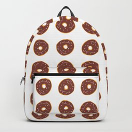 Chocolate Donuts Backpack