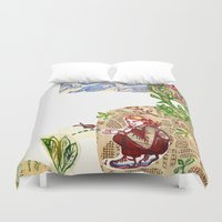 princess Duvet Covers featuring princess by valentina biletta