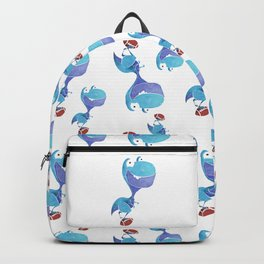 Footballer dino Backpack