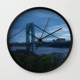 George Washington Bridge Wall Clock