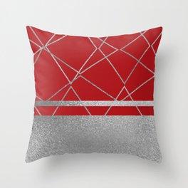 Silverado: Red Throw Pillow
