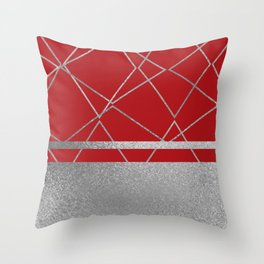 Silverado: Red Throw Pillow