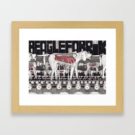The Beagle Factory Framed Art Print