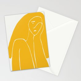 Gently weeps Stationery Cards