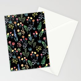 fairytale meadow pattern Stationery Cards