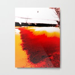 The Colour of Snow Metal Print