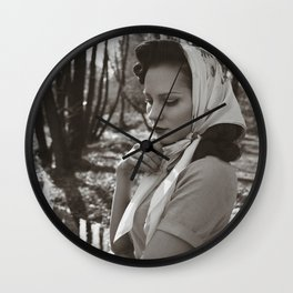Silent Reflections Wall Clock