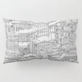 Hong Kong. Kowloon Walled City Pillow Sham