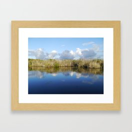 Everglades Serenity Framed Art Print
