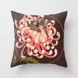 Mictecacihuatl Throw Pillow