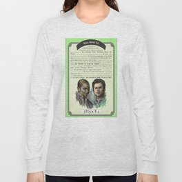Gus, don't be - Psych Quotes Long Sleeve T-shirt