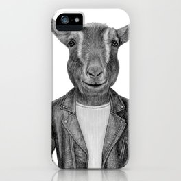 Don Pedro Old Goats Are Cool iPhone Case