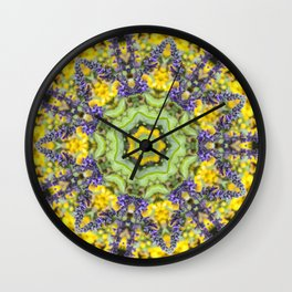 Lace Crown Wall Clock