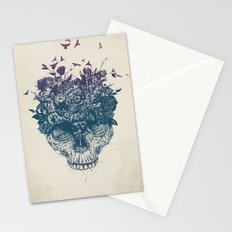 My head is a jungle Stationery Cards