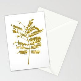 Golden Leaf #Minimal Stationery Cards